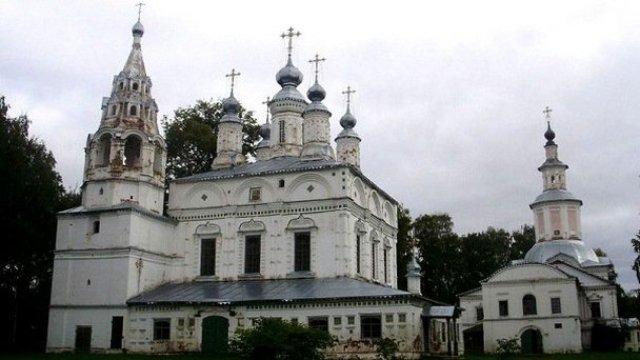 Великий Устюг - город церквей