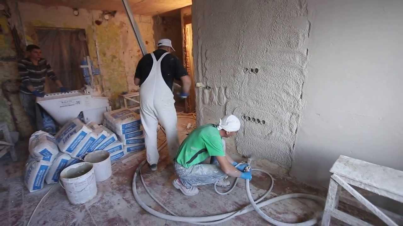 Рекомендации по машинной штукатурке внутренних углов стен