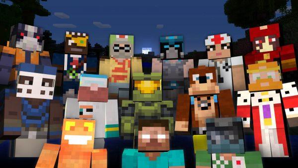 Популярные скины для игры Minecraft PE