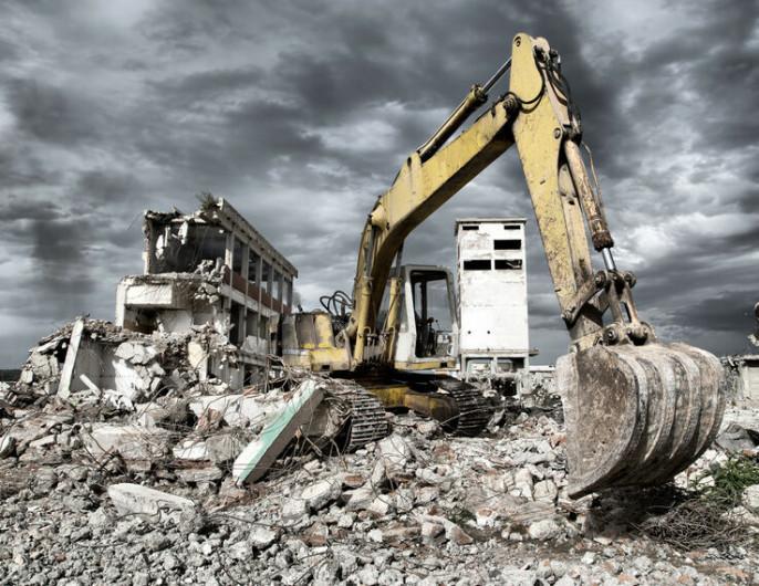 Профессиональный снос зданий и демонтаж строений