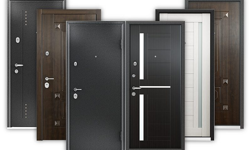 Металлические входные двери от компании «Альянс»