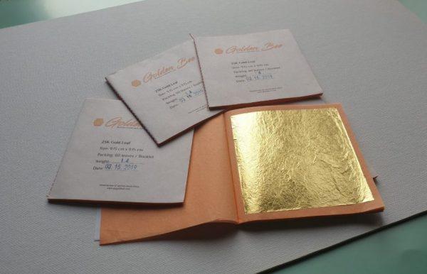 Качественное сусальное золото от проверенного производителя