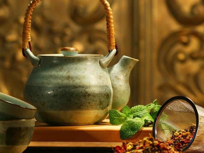 Эффективные травяные чаи для похудения