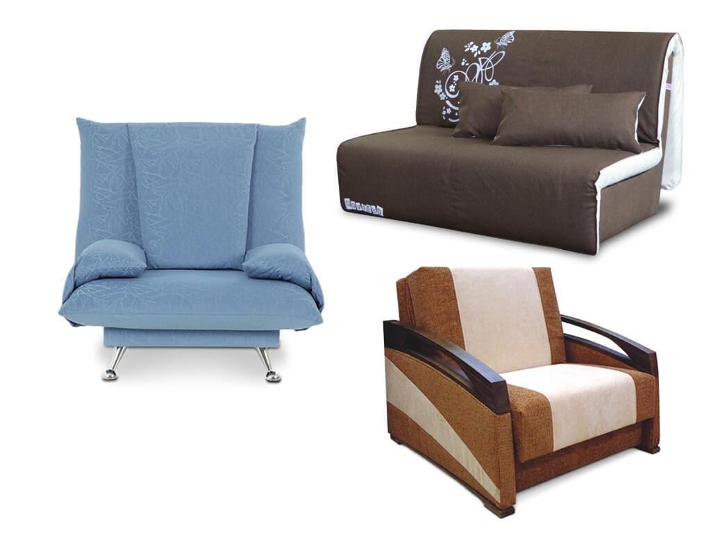 Раскладное кресло — незаменимый предмет мебели в каждом доме
