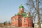 Трапезная церковь Спасо-Бородинского монастыря