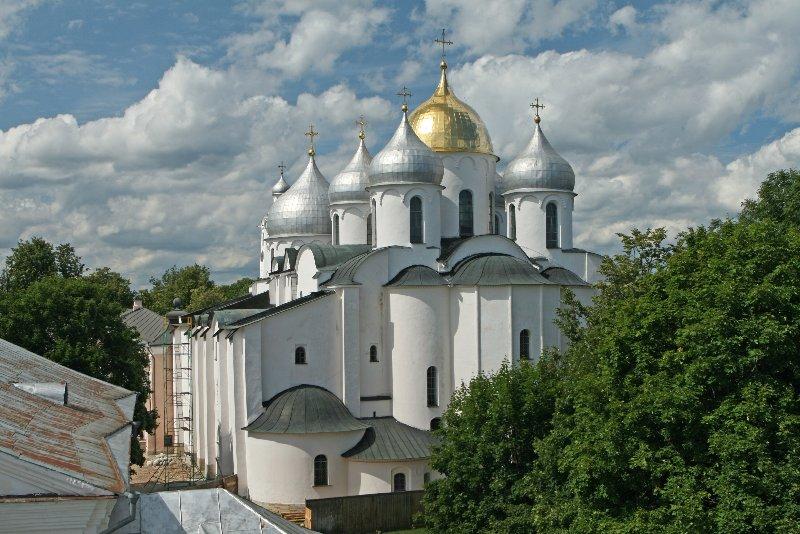 софийский собор в новгороде фото