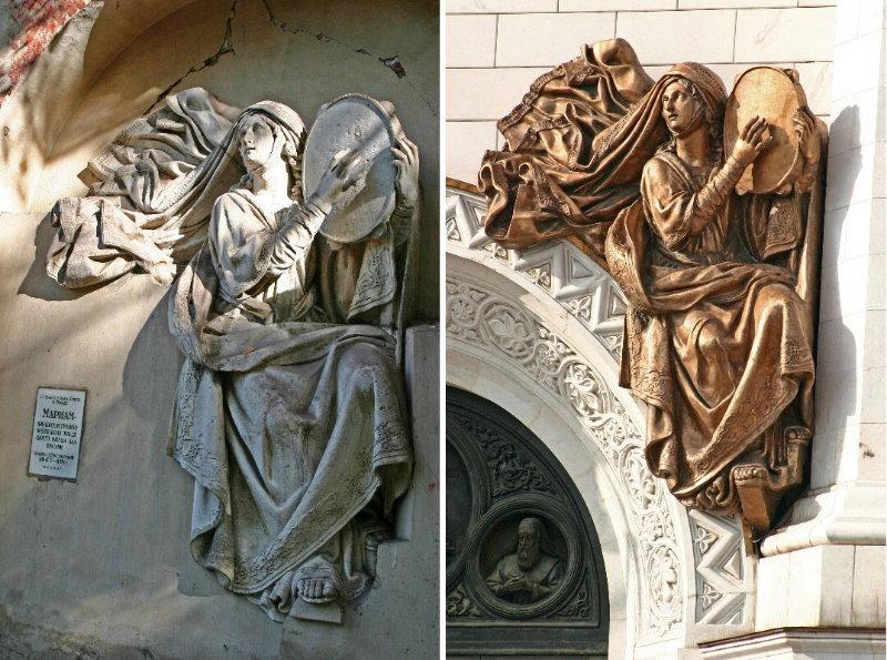 храма Христа Спасителя.