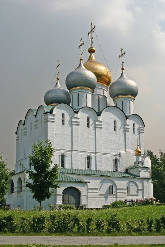 Новодевичий монастырь Смоленский собор