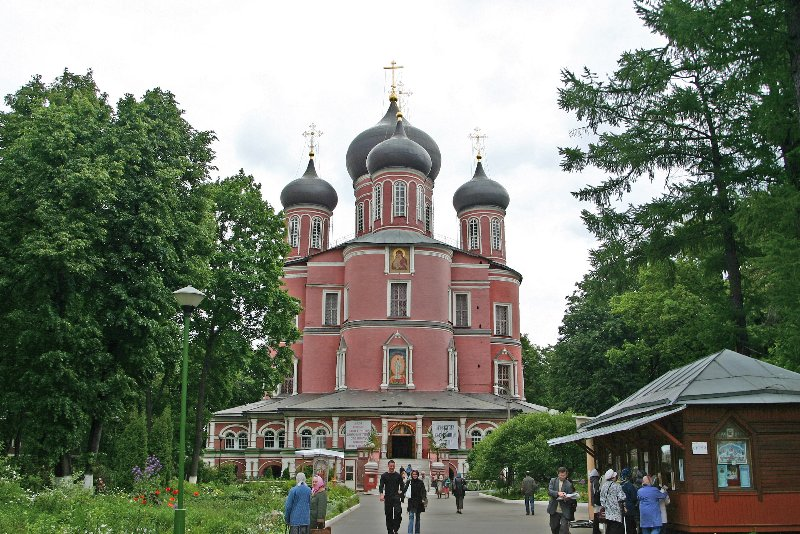 Новый собор Донского монастыря